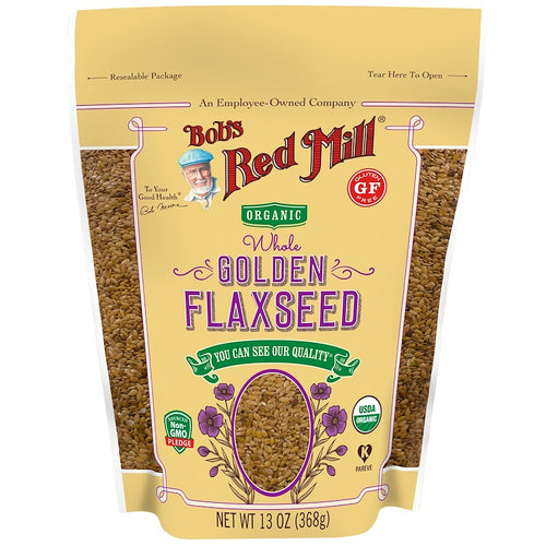 Bob's Red Mill - Organic Whole Golden Flaxseed (368 g) 有機黃金亞麻籽