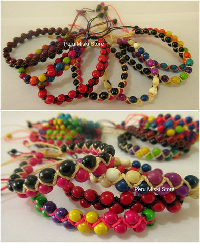 1000 Bracelets with Achira Seeds, Ethnic