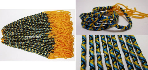 1000 Bahamas Friendship Bracelets tube knot
