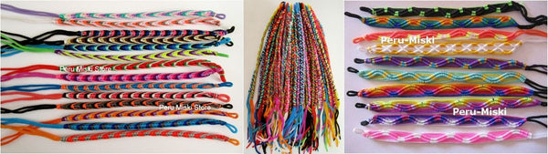 100 lot Friendship Bracelets, Mixed Lot