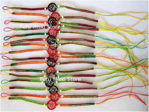 100 Rasta Friendship Bracelets Dreamcatchers, Wholesale