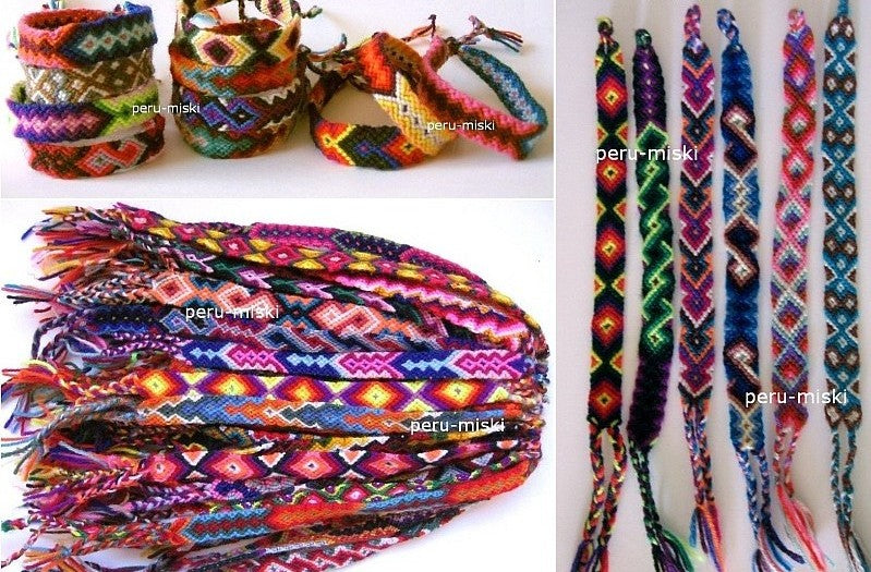 Friendship Bracelets from Cusco, Cuzco, Wool