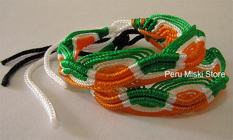 1000 Friendship bracelets Ireland Flag colors