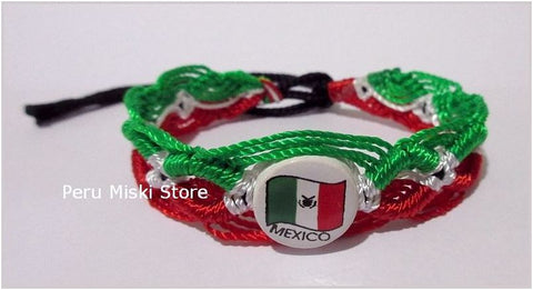 50 Mexico Flag Friendship Bracelets