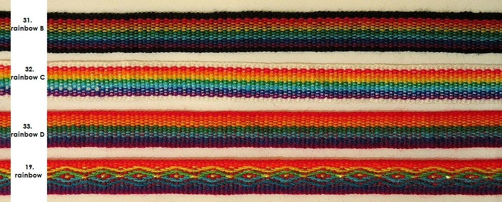 Ribbons, color chart 4
