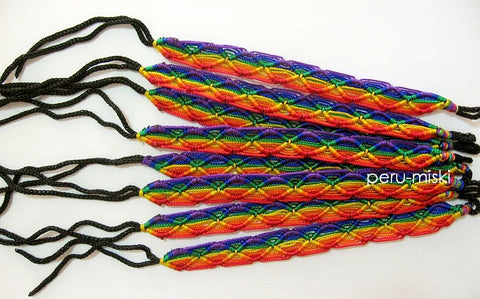 1000 Friendship Bracelets Rainbow Rhombus