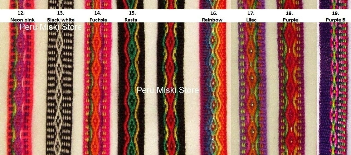 Inca Ribbons 15mm