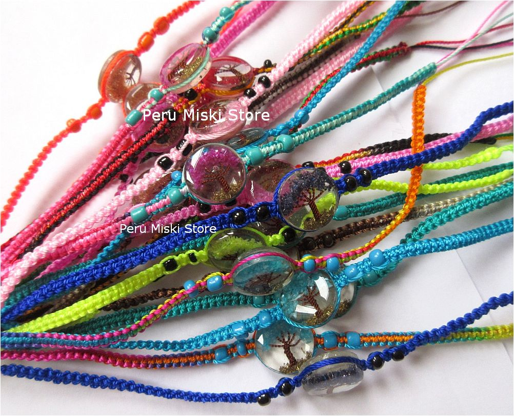 Friendship Bracelets with Tree of Life
