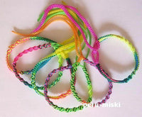 100 Friendship Bracelets Spiral Muticolor