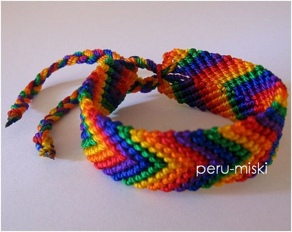 100 Friendship Bracelets Rainbow - Palm Tree