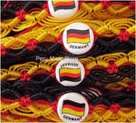 50 Germany Flag Friendship Bracelets
