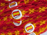 50 Spain España Flag Friendship Bracelets