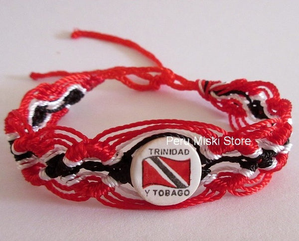 50 Trinidad y Tobago Flag Friendship Bracelets