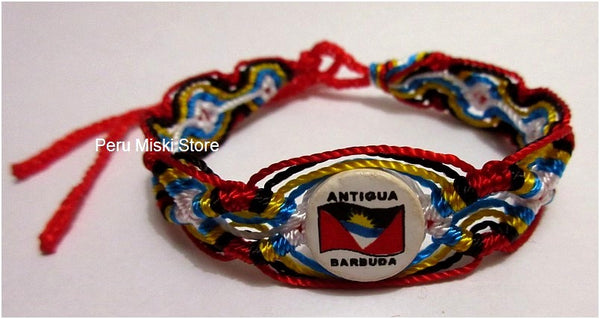 50 Antigua and Barbuda Flag Friendship Bracelets