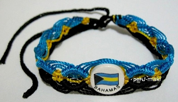 Bahamas Flag Friendship Bracelets