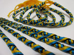 100 Bahamas Friendship Bracelets tube knot