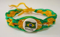 50 Brasil Brazil Flag Friendship Bracelets