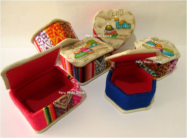 100 Badana Gift Boxes Handmade In Peru Small