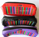 8 Pencil cases or Make up bags, Badana and manto - Peru