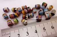1000 Ceramic Clay Beads, 6 mm, Peruvian