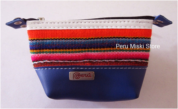 35 Coin Purses, Badana and manto - Peru, Zipper