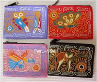 18 Coin Purses, Embroidered, from Arequipa - Peru
