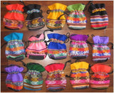 14 Inca bags, pouches, assorted colors