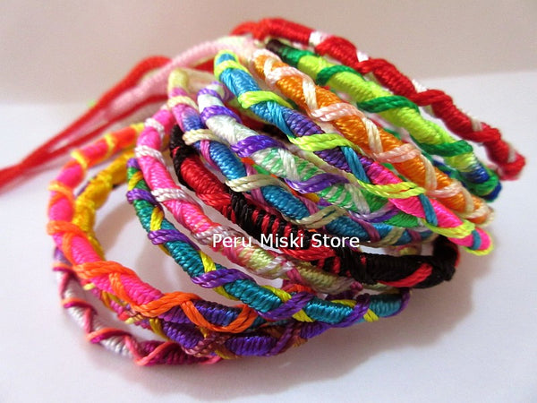 100 Friendship Bracelets Criss cross