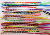 30 Friendship Bracelets Criss cross