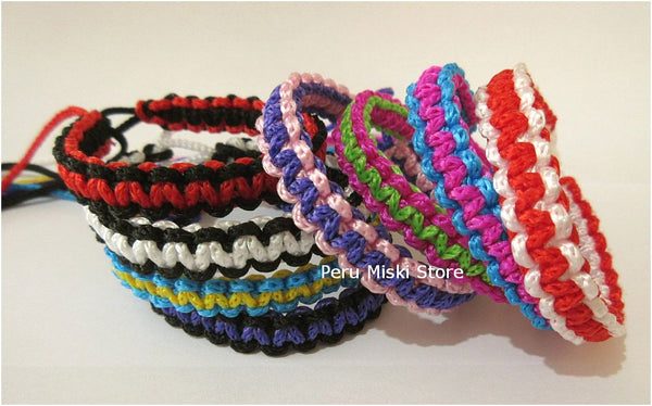 Friendship Bracelets, Square Knot