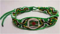 50 Dominica Flag Friendship Bracelets