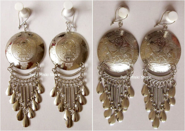 Dormilona Earrings, Handcrafted in Alpaca Silver