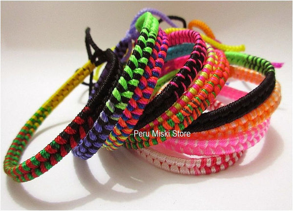 10000 Friendship Bracelets, Double Knot, wholesale lot