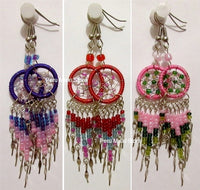80 pairs Dreamcatcher Earrings, with Dangles