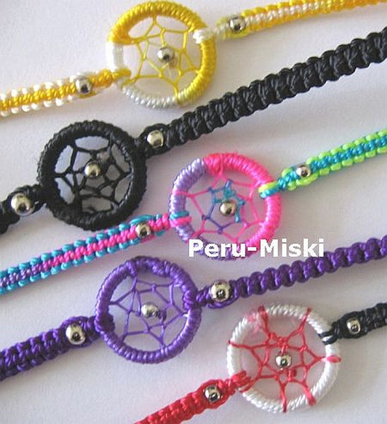 30 Friendship Bracelets Dreamcatchers, Wholesale