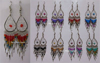 Drop Dreamcatcher Earrings with dangles