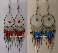 Dreamcatcher Earrings with dangles