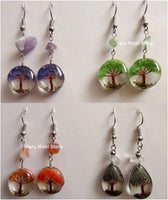 earrings with tree of life