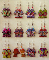 40 pairs of earrings, fish