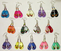 Flip flop Earrings, 1 inch