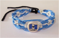 Guatemala Flag Friendship Bracelets