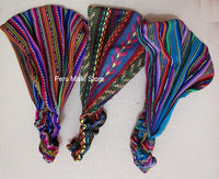 100 Wide Headbands, Inca Colors, Elastic