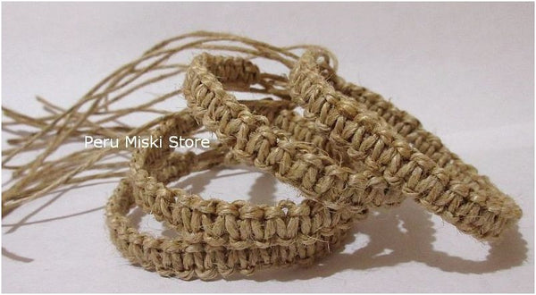 Hemp Friendship Bracelets from Peru