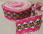 Ribbon Jacquard from Peru, 7.5 cm