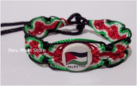 50 Palestine Flag Friendship Bracelets