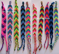 100 Friendship Bracelets - Palm Tree - Assorted colors