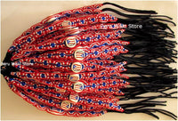Puerto Rico Flag Friendship Bracelets