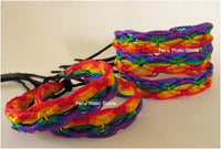 80 Friendship Bracelets Rainbow Rhombus