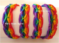Friendship Bracelets Rainbow Rhombus
