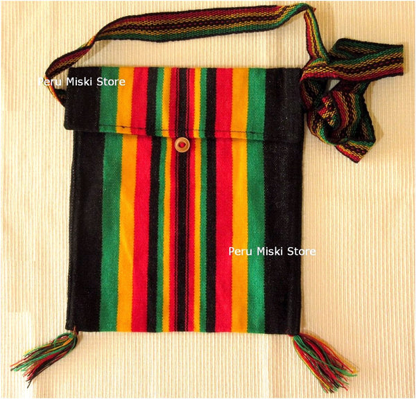 Rasta Shoulder Bags with Stripes